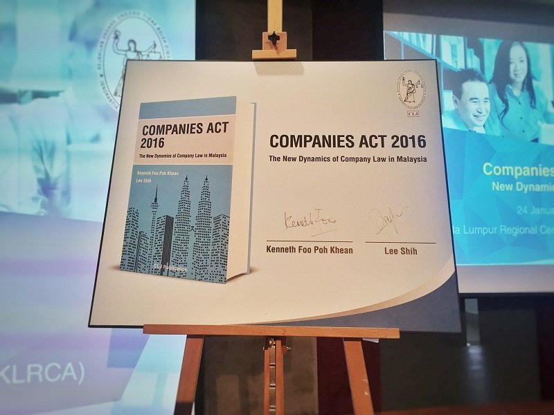 Launch of My Book on the Companies Act 2016 -