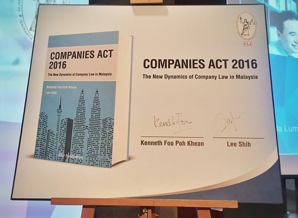 The Companies Act 2016 in force on 31 January 2017: 10